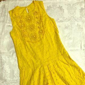 Cute yellow Summer dress!!